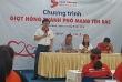 """Khai mạc Hành trình Đỏ - Lần 6 năm 2018 tại TPHCM với thống điệp """"Kết nối dòng máu Việt"""""""