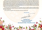Happy New Year letter from Minister Dao Ngoc Dung