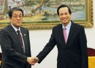 Minister Dao Ngoc Dung had a meeting with Ambassador of Japan in Vietnam