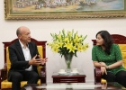 Deputy Minister Nguyen Thi Ha had a meeting with the Chairman of Manpower Group