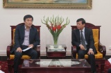 Deputy Minister Nguyen Trong Dam warmly welcomed the Director of  Korea International Cooperation Agency (KOICA) office in Vietnam