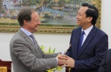 Minister Dao Ngoc Dung welcomed Head of Delegation of the European Union in Vietnam