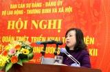 Bộ Lao động -TBXH tổ chức Hội nghị học tập Nghị quyết Hội nghị Trung ương 6 khóa XII