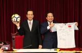 Bộ Lao động – Thương binh và Xã hội sẽ tổ chức đấu giá trang phục thi đấu của Đội tuyển U23 Việt Nam