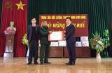 Thứ trưởng Lê Quân thăm, tặng quà tại Trung tâm Điều dưỡng thương binh Duy Tiên và Kim Bảng