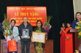 """Phường Hàng Bài tổ chức Lễ truy tặng danh hiệu vinh dự Nhà nước """"Bà mẹ Việt Nam Anh hùng"""""""