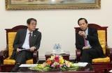 Bộ trưởng Đào Ngọc Dung tiếp Đại sứ Nhật Bản tại Việt Nam