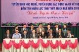 Thừa Thiên – Huế: Ngày hội tuyển sinh học nghề năm 2018