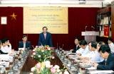 Bộ trưởng Đào Ngọc Dung làm việc với Viện Khoa học Lao động và Xã hội