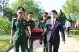 Thừa Thiên Huế:  Tổ chức an táng 11 hài cốt liệt sĩ hi sinh tại chiến trường Lào