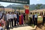 Gần 600 triệu đồng hỗ trợ xây dựng công trình phụ trợ trường học tại Phú Thọ