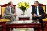 Thứ trưởng Doãn Mậu Diệp tiếp Đại sứ Liên minh châu Âu tại Việt Nam