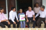 Các gia đình chính sách thị xã Hương Trà được quan tâm chu đáo trong dịp kỷ niệm 71 năm Ngày Thương binh - Liệt sĩ