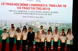 Thứ trưởng Nguyễn Thị Hà dự Lễ trao học bổng Lawrence S. Ting lần thứ 16 và trao tài trợ năm 2019