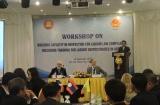Tăng cường năng lực cho hệ thống thanh tra viên lao động trong khối ASEAN