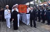 Lễ truy điệu và Lễ an táng Chủ tịch nước Trần Đại Quang