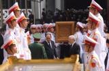 Lễ truy điệu và an táng nguyên Tổng Bí thư Đỗ Mười