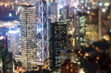 """Kinh tế Hồng Kông """"mắc kẹt"""" trong chiến tranh thương mại Mỹ-Trung"""