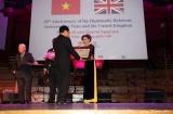 Bà Katrin Kandel – Giám đốc điều hành tổ chức Facing the World nhận Huy chương Hữu nghị của Nhà nước  Việt Nam