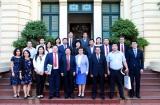 Thứ trưởng Lê Tấn Dũng tiếp Đoàn công tác của Bộ Lao động và Bảo trợ xã hội Mông Cổ