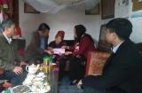 Hà Nam: Thăm tặng quà Tết gia đình chính sách và hộ nghèo tại huyện Thanh Liêm