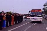 Hà Nội đưa công nhân có hoàn cảnh khó khăn về quê đón Tết