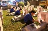 Hà Nội: Thắp nến tri ân tưởng nhớ công lao các anh hùng liệt sỹ chiến đấu bảo vệ biên giới phía Bắc của Tổ quốc