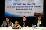 Hội thảo tham vấn và triển khai các hoạt động của Ủy ban ACWC năm 2019