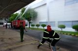 Đồng Nai: Thực tập chữa cháy và cứu nạn cứu hộ phối hợp nhiều lực lượng