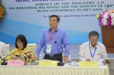 Tác động của cách mạng công nghiệp 4.0 đến quan hệ lao động và chất lượng việc làm trong doanh nghiệp FDI tại Việt Nam