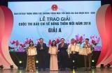 Công bố 10 sự kiện của các chương trình mục tiêu quốc gia và trao giải báo chí về Nông thôn mới