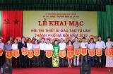 Khai mạc Hội thi thiết bị đào tạo tự làm TP Hà Nội năm 2019