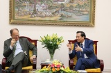 Minister Dao Ngoc Dung congratulated the German Ambassador for his successful term in Vietnam