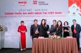 Chính thức ra mắt sản phẩm sữa MEIJI của Nhật Bản tại Việt Nam