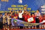 Hà Tĩnh đăng quang vô địch giải bóng đá quốc gia dành cho trẻ em có hoàn cảnh đặc biệt năm 2019