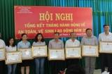 Tăng cường thanh, kiểm tra công tác an toàn vệ sinh lao động ở Ninh Thuận
