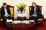 Bộ trưởng Đào Ngọc Dung tiếp Tổng Thư ký ASEAN và Phó Tổng Giám đốc ILO