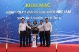 Khai mạc ngày hội tư vấn và giao dịch việc làm quận Hoàn Kiếm