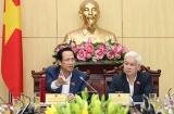 Bộ trưởng Đào Ngọc Dung làm việc với lãnh đạo tỉnh Bình Phước