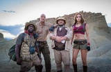 Jack Black và The Rock lầy lội trong Jumanji: The Next Level