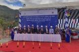 EVN triển khai thi công và phát động trào thi đua xây dựng Cụm công trình cửa xả Dự án Thủy điện Tích Năng Bác Ái