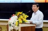 """Tọa đàm """"Đồng hành khôi phục và phát triển kinh tế TP. Hồ Chí Minh năm 2020""""."""