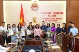 Thứ trưởng Nguyễn Thị Hà: Nhiều nhà báo đã đóng góp tích cực trong lĩnh vực lao động, người có công và xã hội
