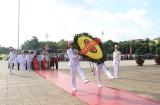 Đoàn Đại biểu mẹ Việt Nam anh hùng viếng Lăng Chủ tịch Hồ Chí Minh