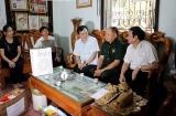 Nhiều đoàn lãnh đạo tỉnh Sơn La thăm, hỏi tặng quà người có công với cách mạng