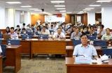 TP.HCM: Hơn 50 nhà báo dự tập huấn tuyên truyền, phổ biến pháp luật về bầu cử đại biểu Quốc hội và Hội đồng nhân dân