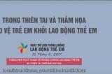 Thông điệp phát thanh về phòng chống lao động trẻ em do thiên tai, biến đổi khí hậu