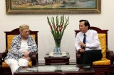 Minister Dao Ngoc Dung hoped that the donors would join hands with Vietnam for the best things for children
