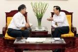 Bộ trưởng Đào Ngọc Dung tiếp Chủ tịch Tổ chức Phát triển nguồn nhân lực quốc tế Nhật Bản