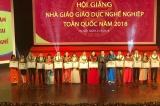Trường Cao đẳng nghề TP.HCM đoạt giải cao tại Hội giảng nhà giáo Giáo dục nghề nghiệp toàn quốc năm 2018